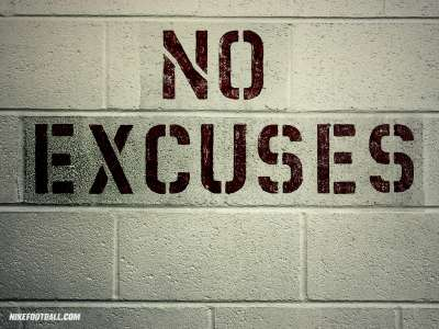 no excuses for not exercising
