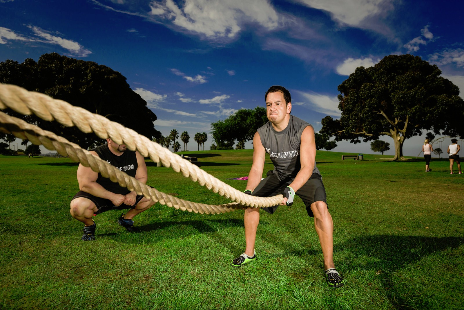 Personal Trainer   Wired Fitness Outdoor Fitness Training