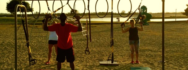 Mission Bay TRX Workout