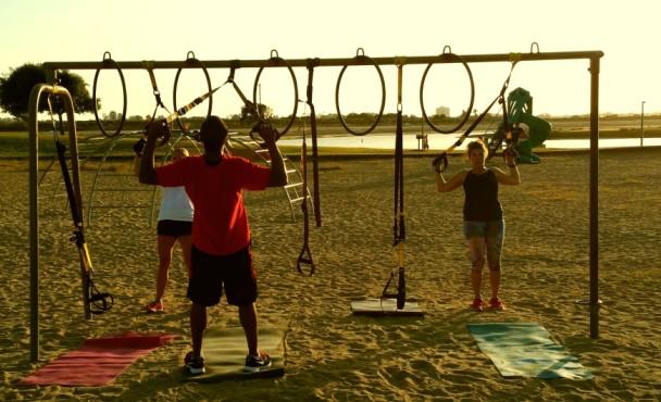 Mission Bay TRX Workout